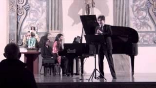 Brahms Clarinet Sonata No. 1 F minor. II. Andante un poco Adagio