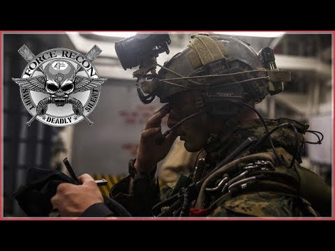 British Army Veteran Reacts To United States Marine Force RECON!