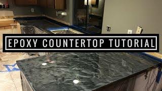 Video Countertop Resurfacing with Metallic Epoxy | Silver and Charcoal download MP3, 3GP, MP4, WEBM, AVI, FLV Juni 2018
