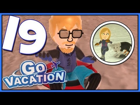 Go Vacation Part 19 Snow Bowling + Snowmobile Tricks (Nintendo Switch)