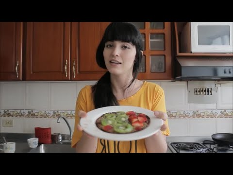 Ideas Veg -  ChocoPancakes Veganos y Fitness