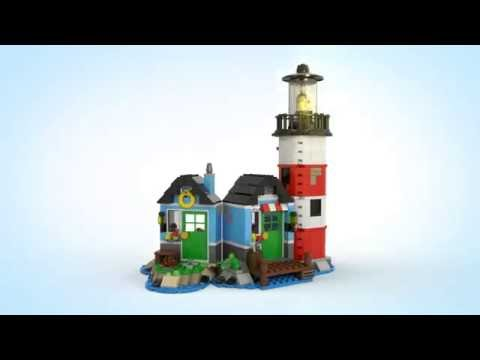 Lighthouse Point - LEGO Creator 3in1 31051- Product Video