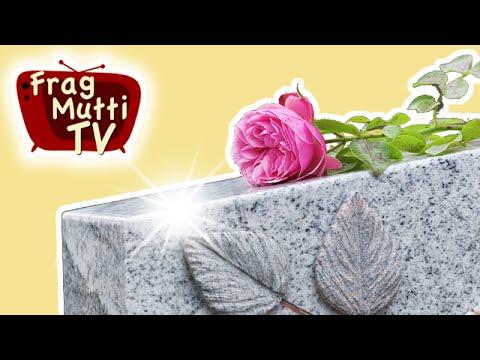 grabstein reinigen so geht 39 s frag mutti tv youtube. Black Bedroom Furniture Sets. Home Design Ideas