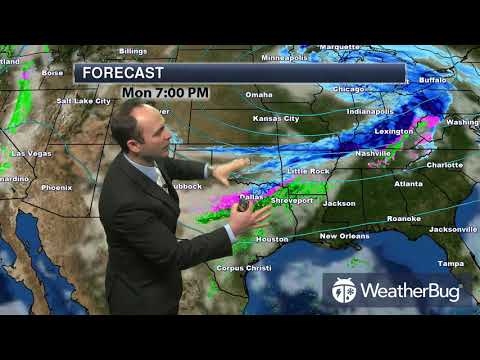 Monday's South Central Regional Weather Outlook   Jan 15, 2018