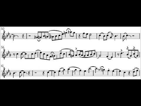 Dolphin Shoals - Saxophone Solo Transcribed (Mario Kart 8)