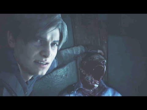 RESIDENT EVIL 2 Gameplay Walkthrough Part 1 Developer Demo & Trailer (RESIDENT EVIL 2 REMAKE)