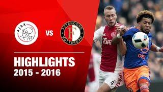 Samenvatting | Ajax - Feyenoord 2015-2016
