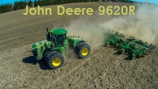 John Deere's Biggest Tractor 9620R Working Ground.