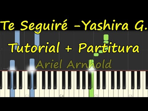 TE SEGUIRE YASHIRA GUIDINI Piano Tutorial Cover Facil + Partitura PDF Sheet Music Easy Midi thumbnail