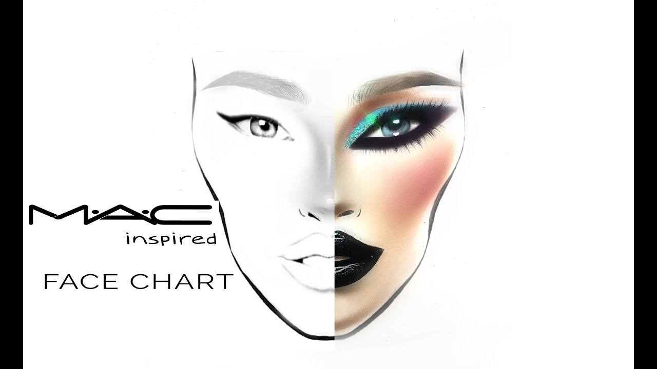 Blank Face Diagram Face Charts Makeupgeek Idea