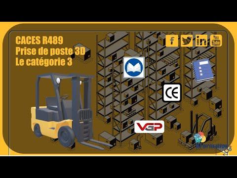 CACES R489 Prise de poste 3D catégorie 3