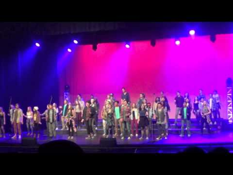 Rent Medley Part 1- Desert Vista High School POPS concert 2014