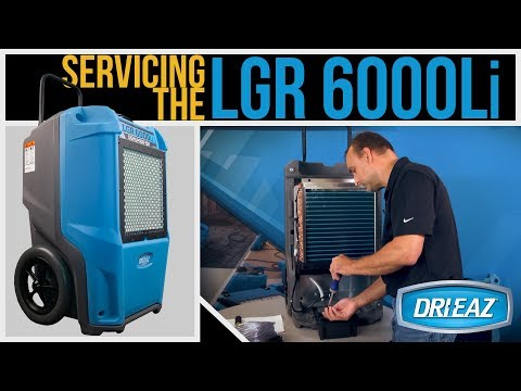 Servicing the Dri-Eaz LGR 6000Li