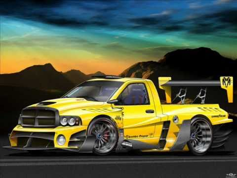 cars exotic wallpapers dodge fast ram truck pimped yellow awesome supercars racing slideshow srt