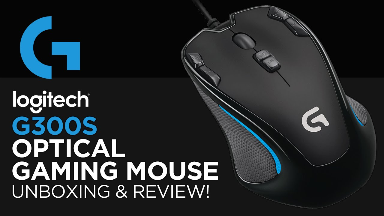 logitech g300s optical gaming mouse unboxing review youtube. Black Bedroom Furniture Sets. Home Design Ideas