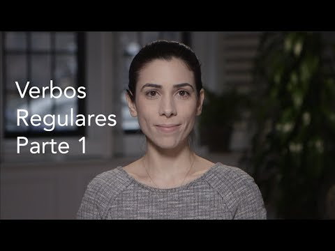How to conjugate regular verbs in Portuguese - part 1