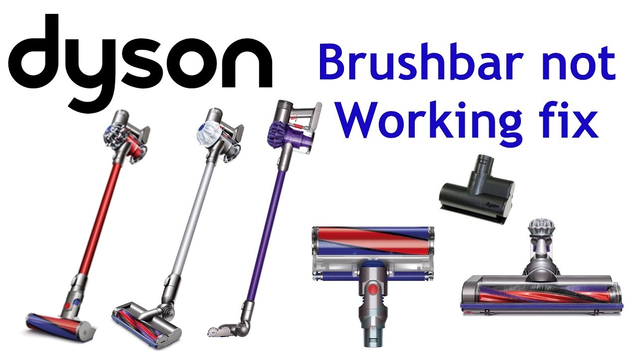 Image of: Vacuum Cleaner Dyson V6 Brushbar Stopped Minutes Easy Fix Animal Total Clean Absolute Youtube Dyson V6 Brushbar Stopped Minutes Easy Fix Animal Total Clean