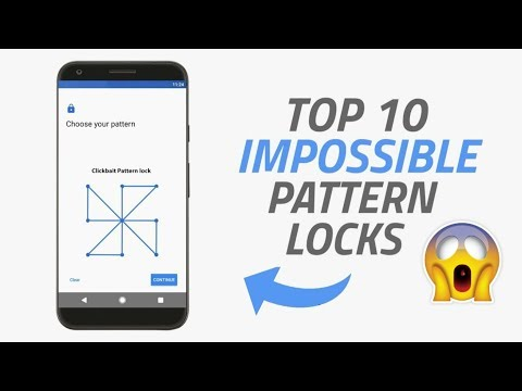 Top 10 Impossible Phone Pattern Locks