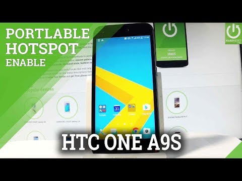 How to Enable Portable Hotspot on HTC One A9s