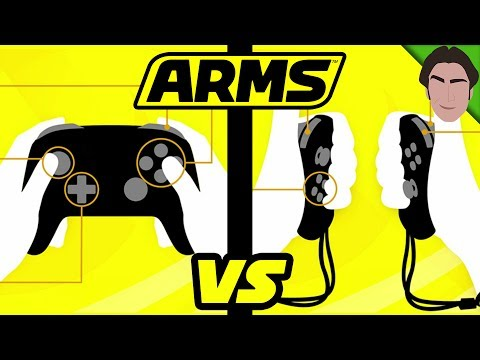 Button VS Motion Controls! ARMS Nintendo Switch