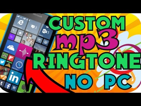 HOW TO | MAKE ANY SONG AS RINGTONE IN WINDOWS PHONE -NO PC - (2017)