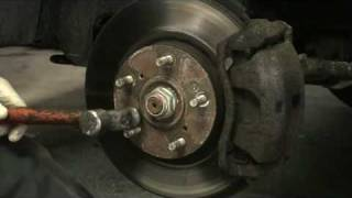Removing Brake Rotor Screws That Won