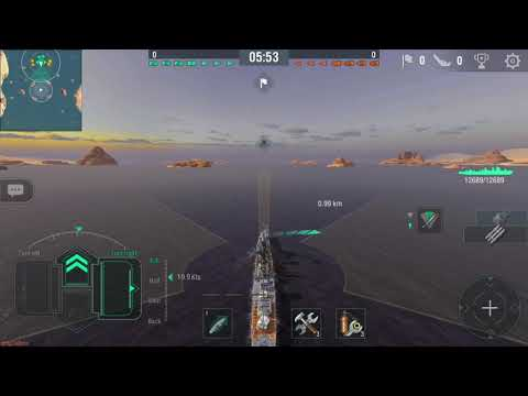 World of Warships Blitz Roulettes with Imperial Japanese Navy  tier 6 IJN Fubuki~sama (DD-35) 吹雪