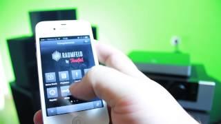 Raumfeld App - Steuerung des Raumfeld Systems über iOS und Android