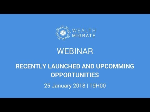 Wealth Migrate   Upcoming and recently launched Investment Opportunities