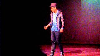 St. Louis School Talent Time 2012 - Guest Performance 李礎業 (1) - 拍一半拖