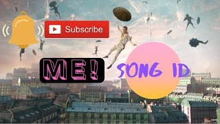 ME! By taylor swift song ID roblox