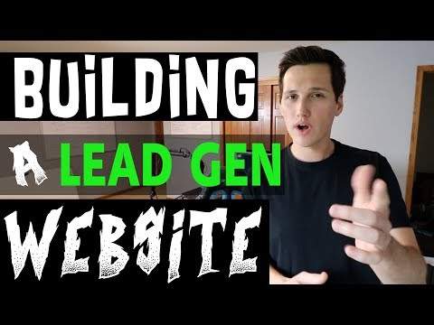 Let's Build A Niche LEAD GENERATION Website From Scratch