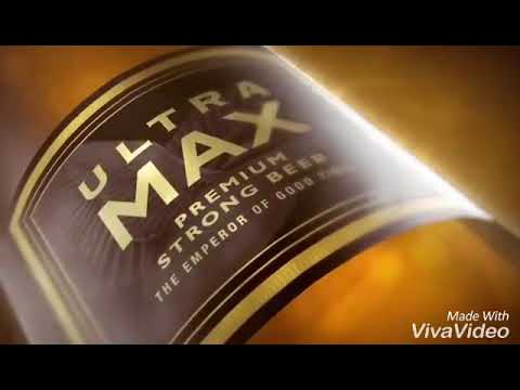Kingfisher Ultra Max Premium Strong Beer