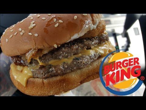Burger King Rodeo King Burger Review - CarBS