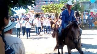 Cabalgata 2018 fiestas de El Capomo, Nayarit. Acompañados por Banda Capomeña. Otro exito mas.