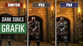 Dark Souls Remastered (Switch vs. PS3 vs. PS4) Grafikvergleich