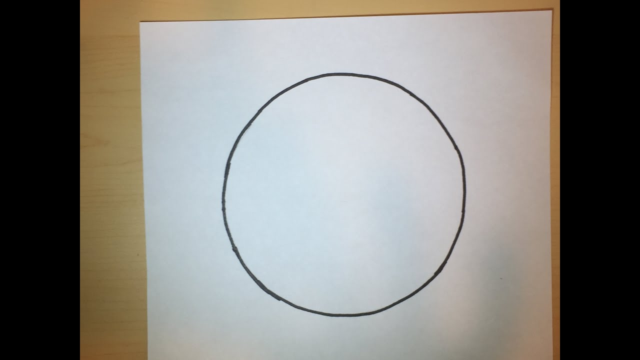 watch how to draw a perfect circle online
