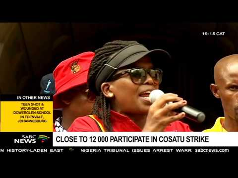 WRAP: Cosatu National Strike