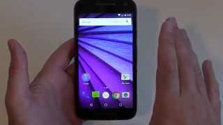 How to reset the Motorola Moto G3 2015