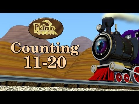 "Counting 11-20, Learn Numbers 11-20 | PicTrainâ""¢"