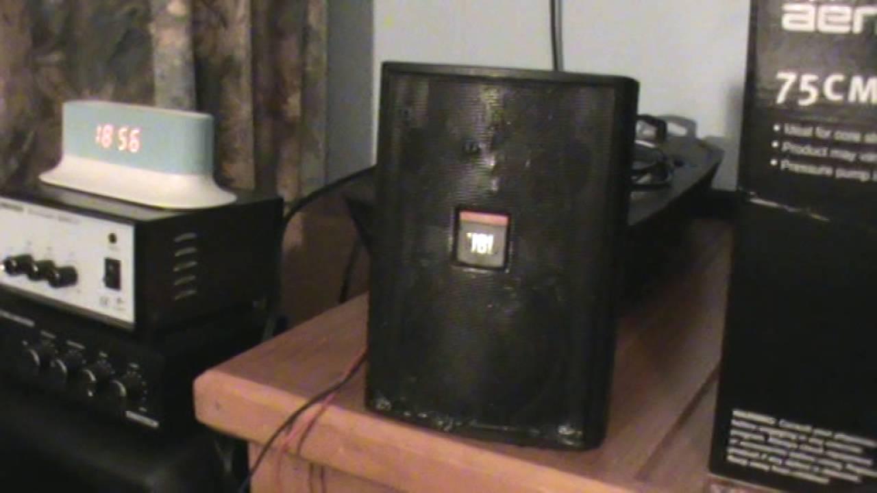 Rebuilt JBL Control 23 Speaker