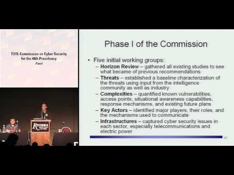 DEFCON 16: Panel: Commission on Cyber Security for the 44th Presidency