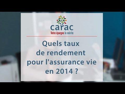 Quels taux de rendement pour l'assurance vie en 2014 ?