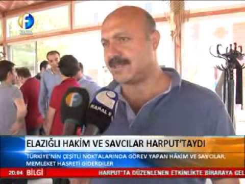 Elazığlı Hakim Ve Savcılar Harput'taydı / Kanal Fırat