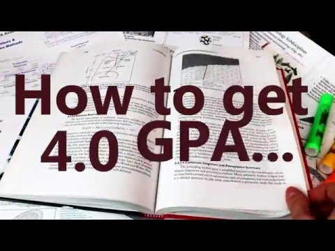 How I got 4.0 GPA - My experience and study tips
