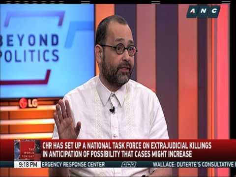 CHR sets up task force on extrajudicial killings
