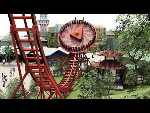 Liseberg 2016 amusement park Sweden Gothenburg