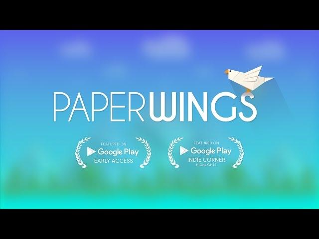 折り紙の鳥を操ってコインを集めるのが楽しい「ペイパーウイング」
