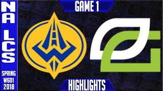 Video GGS vs OPT Highlights | NA LCS Week 6 Spring 2018 W6D1 | Golden Guardians vs Optic Gaming Highlights download MP3, 3GP, MP4, WEBM, AVI, FLV Agustus 2018