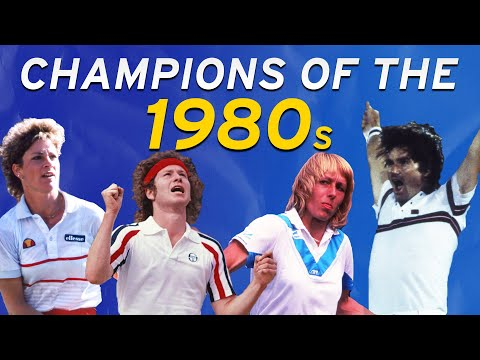 US Open Champions Of The 1980s